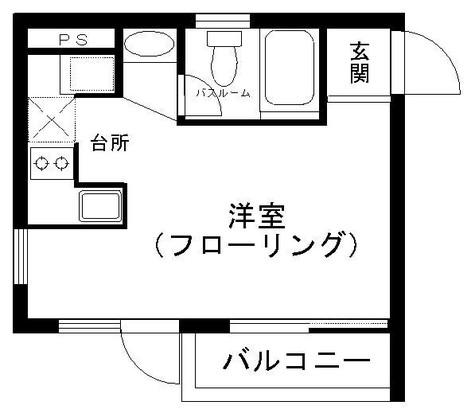 学大ハイツ / 2階 部屋画像1