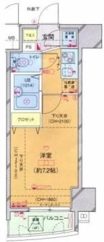 菱和パレス駒沢大学駅前 / 5階 部屋画像1