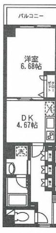 ロンスリー・ウエスト / 413 部屋画像1