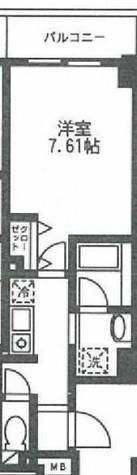 ロンスリー・ウエスト / 4階 部屋画像1