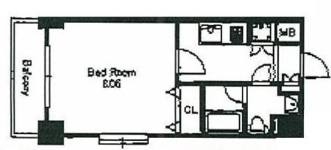 KWレジデンス森下Ⅱ / 2階 部屋画像1