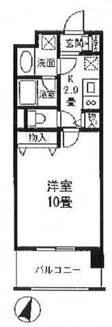 プロスペクト東雲橋 / 3階 部屋画像1