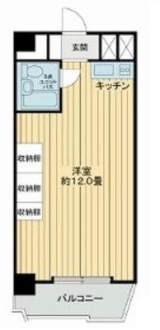 湯島永谷マンション / 9階 部屋画像1