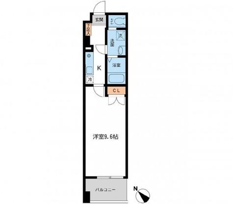 フィオーレ月島 / 2階 部屋画像1