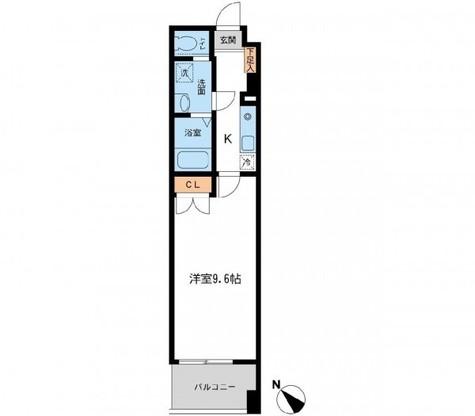 フィオーレ月島 / 4階 部屋画像1