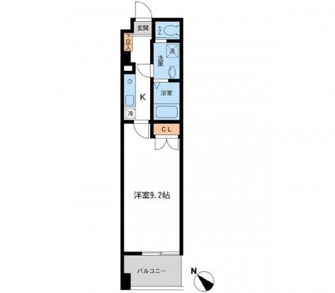 フィオーレ月島 / 405 部屋画像1