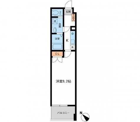 フィオーレ月島 / 406 部屋画像1