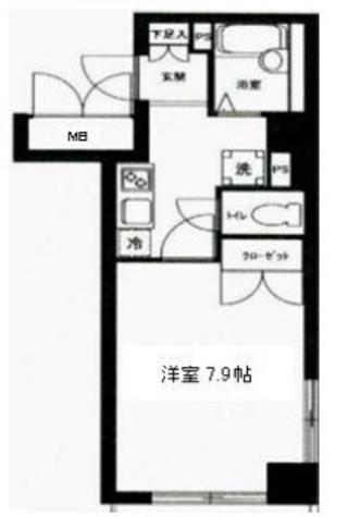 KDXレジデンス横浜関内 / 10階 部屋画像1