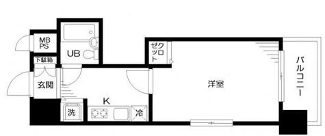 日神パレステージ三田 / 2階 部屋画像1
