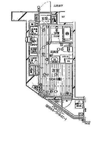 プレール・ドゥーク新宿御苑 / 11階 部屋画像1