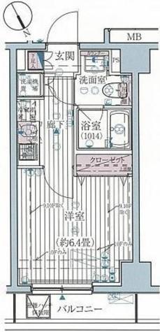 プレール・ドゥーク高輪 / 9階 部屋画像1