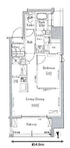 パークアクシス新御徒町East / 14階 部屋画像1