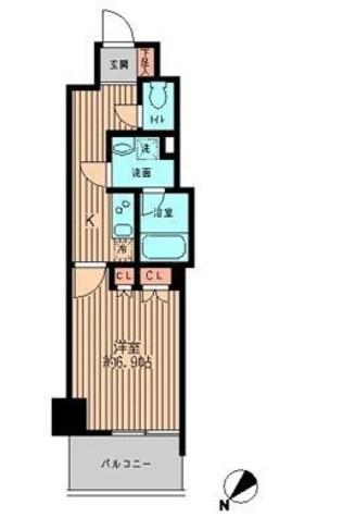 日本橋ファーストレジデンス / 10階 部屋画像1