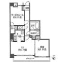 レジディア三軒茶屋Ⅱ / 102 部屋画像1