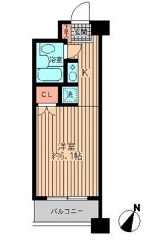 プライムアーバン勝どき(旧アーバンステージ勝どき) / 10階 部屋画像1