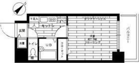 ステージファースト本駒込 / 4階 部屋画像1
