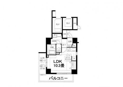 グランド・ルー戸越銀座 / 605 部屋画像1