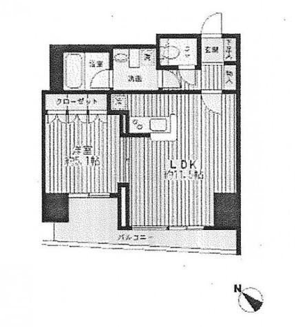 日本橋ファーストレジデンス / 12階 部屋画像1