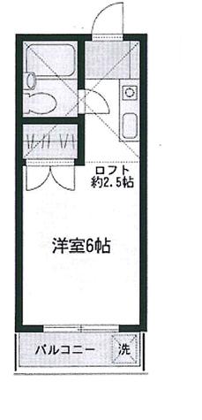 グレースコート / 3階 部屋画像1