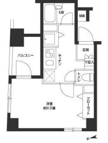 カスタリア新富町3(旧ニューシティレジデンス銀座イーストⅢ) / 303 部屋画像1