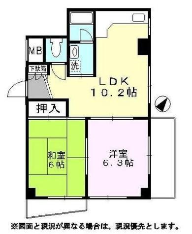 ジンマンション / 2階 部屋画像1