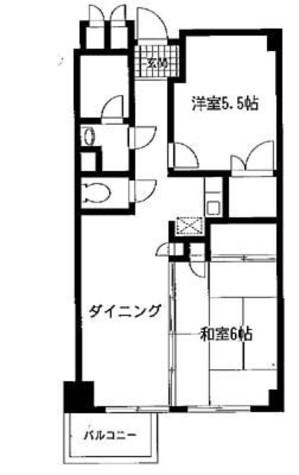 アーバンコートサカスⅢ / 3階 部屋画像1