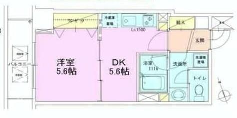 銀座レジデンス弐番館 / 603 部屋画像1