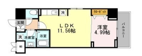 AVENIR渋谷本町 / 605 部屋画像1