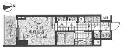 コンフォリア門前仲町(旧レーベレジデンス冬木) / 909 部屋画像1