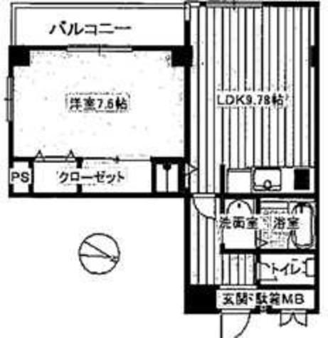 クレールモリドーⅡ / 2階 部屋画像1
