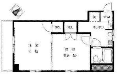 リバーシティ不動前 / 3階 部屋画像1