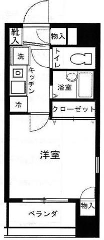 シンシア日本橋 / 10階 部屋画像1