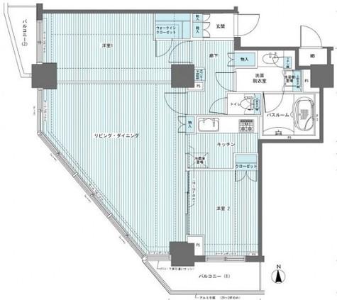 フェニックス西参道タワー / 18階 部屋画像1