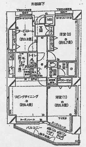 アーバンハイム初台 / 402 部屋画像1