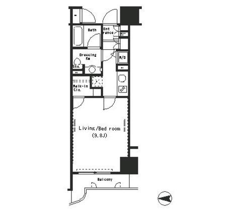パークアクシス四谷ステージ / 7階 部屋画像1