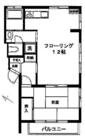 谷中ハウス / 1階 部屋画像1