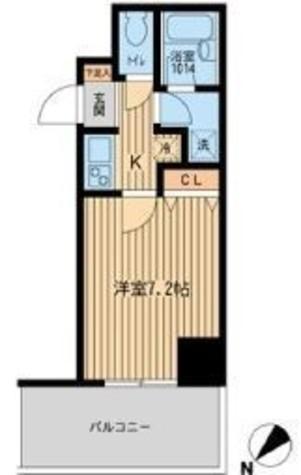 フォレシティ白金台 / 3階 部屋画像1