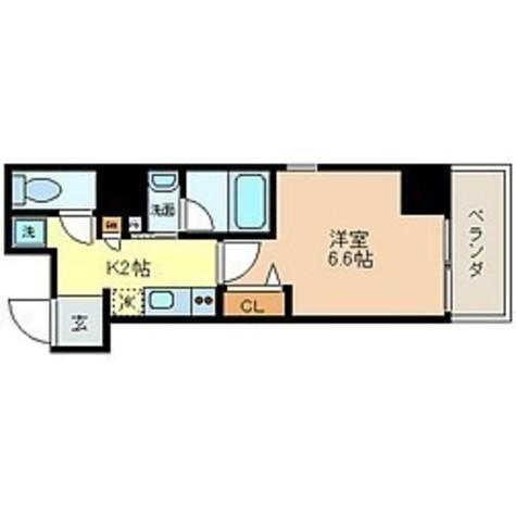 蔵前 3分マンション / 804 部屋画像1