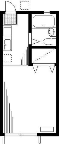 コスモハイツ / 1階 部屋画像1