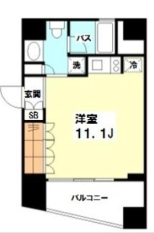 プラティーク新宿WEST / 601 部屋画像1