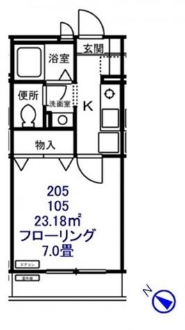 グランファミーユ / 1階 部屋画像1
