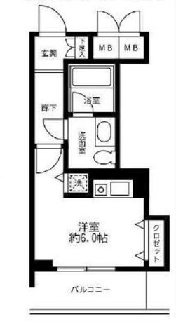 グレンパーク池田山 / 4階 部屋画像1