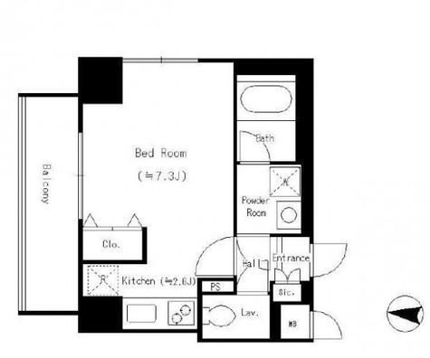 パーク フィル ヴェール / 5階 部屋画像1