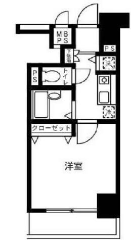ドルチェ銀座東壱番館 / 1003 部屋画像1