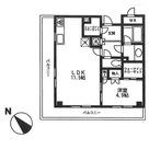 グローリオ白金高輪 / 601 部屋画像1