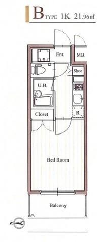 フィットエル森下 / 402 部屋画像1
