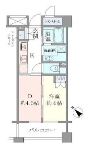 Brillia恵比寿id(ブリリア恵比寿ID) / 3階 部屋画像1