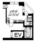 B-Wall神保町(ビーウォール神保町) / 504 部屋画像1