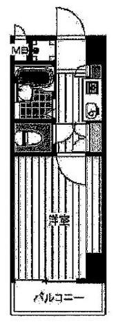 菱和パレス駒場東大 / 404 部屋画像1