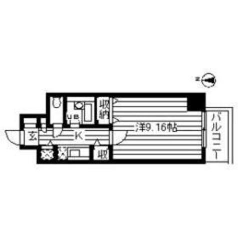 ルート幡ヶ谷 / 1002 部屋画像1